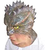 Halloween Lizard-Man latex Mask
