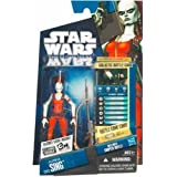 Star Wars, The Clone Wars 2010 Action Figure, Aurra Sing #CW11, 3.75 Inches