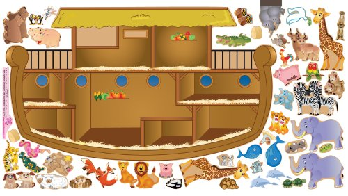 Mona Melisa Designs, Interactive Wall Play Set, Noah'S Ark front-623916