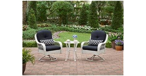 Cute Better Homes and Gardens Azalea Ridge Piece Woven Bistro Seats Set from Walmart for