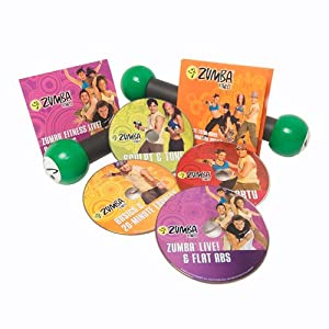 Click to buy Home Fitness And Exercise Equipment: Zumba DVD Set from Amazon!