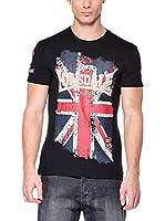 Lonsdale Camiseta Manga Corta Guardian (Negro)