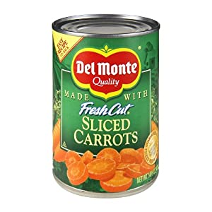 Del Monte Sliced Carrots, 14.5-Ounce (Pack of 8)