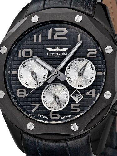 Perigaum 1972 Automatic Reloj para hombres Recubierto con PVD