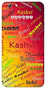 Kashvi (Shining) Name & Sign Printed All over customize & Personalized!! Protective back cover for your Smart Phone : Moto E-2 ( 2nd Gen )