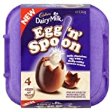 Cadbury Egg n Spoon Vanilla (Pack of 4)