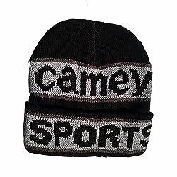 Camey men black skull cap