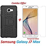 Samsung Galaxy J7 Max Back Cover / Galaxy J7 Max Back Cover Shoppingmonk ...,,,(COMBO OFFER ) For ( Samsung Galaxy J7 Max / Galaxy J7 Max) - KickStand Back Case Cover , Tough Heavy Duty Shockproof Military Grade Armor Defender Series Dual Protection Layer
