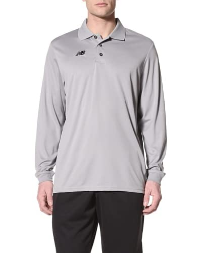 New Balance Men's Team Long Sleeve Polo