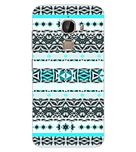 ColourCraft Tribal Pattern Design Back Case Cover for LeEco Le 2