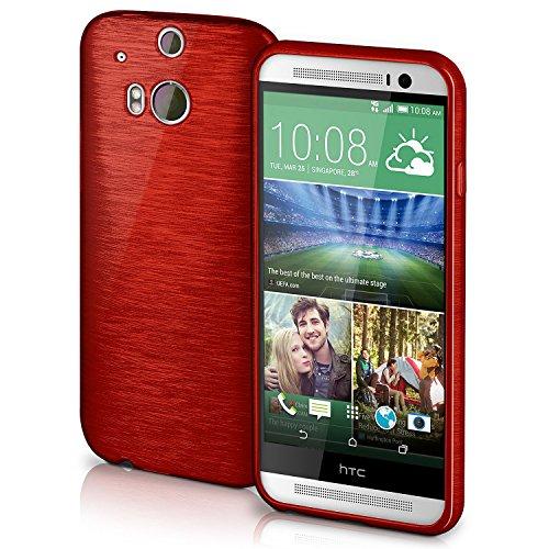 Cover di protezione HTC One M8 / M8s Custodia Case silicone sottile 1,5mm TPU   Accessori Cover cellulare protezione   Custodia cellulare Paraurti Cover Spazzolata Look