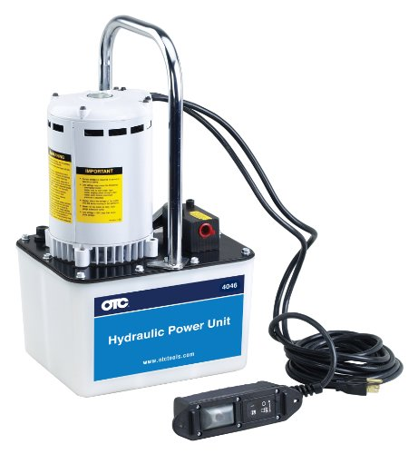 Otc (4046) Ramrunner Two-Stage Electric/Hydraulic Pump - 3 Position/4 Way, Manual Valve