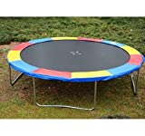 12' Trampoline Replacement Safety Pad / Spring Cover - Multi Color