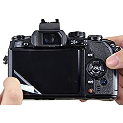 JJC GSP-5DM3 Tempered Toughened Optical Glass Camera Screen Protector 9H Hardness Anti-Bubble Anti-scratch Anti-burst Anti-fingerprint Ultra-thin Super Light Transmittance For Canon EOS 5D MARK III Digital Camera