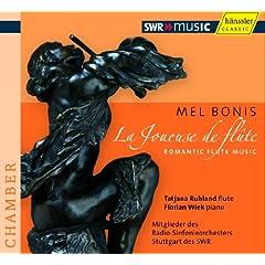 �t���[�g�̉x�� - �����E�{�j�ɂ��t���[�g��i�W ( Mel Bonis : La Joueuse de flute - Romantic Flute Music / Tatjana Ruhland )