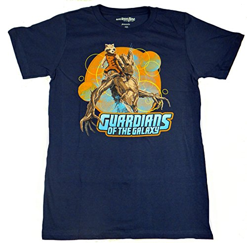 Guardians Of The Galaxy Rocket Raccoon and Groot T-shirt