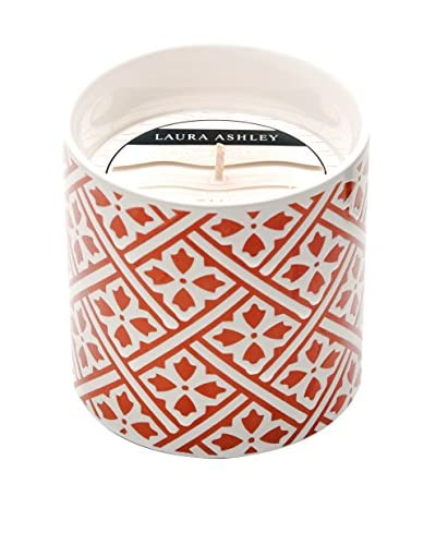Laura Ashley by Thompson Ferrier 12.3-Oz. Guava Tangerine Red Deco Candle