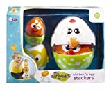 Earlyears Chicken and Egg Stacking Cups