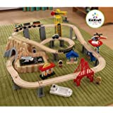 Kid Kraft 60 Piece Train Play Set A Wonderful Way For Your Little One To Play Alone And Develop Creative Skills