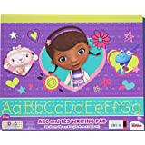 "Doc McStuffins ABC And 123 Writing Pad - 30 Sheets - 10"" X 8"""
