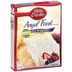 Betty Crocker White Angel Food Cake Mix - Pack Of 3 16oz Boxes