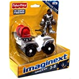 Imaginext DC Super Friends Figure - Mini ATV With Cyborg