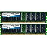 "A-DATA 2 GB DDR1-RAM PC400 CL3 Value 2x1 GB KITvon ""A-Data"""