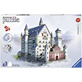 Ravensburger 3D Puzzles Neuschwanstein Castle, Multi Color (216 Pieces)