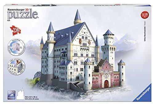 Ravensburger Neuschwanstein 3D Puzzle (216-Piece) JungleDealsBlog.com