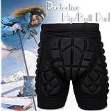 HeroNeo® SizeXS-3XL Protective Gear Hip Padded Shorts Skiing Skating Snowboard Protection