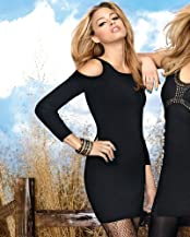 bebe Cutout Shoulder Dress