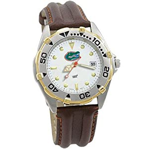 Buy Logo Art Florida Gators Mens Elite Watch W Leather Band by Logo Art