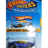 Hot Wheels Color Shifters Phastasm Car Color To Color Transformation