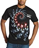 Ecko Unlimited Men's Laser Madness T-Shirt,Black,X-Large