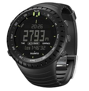 Suunto Core Altimeter, Barometer & Compass, All Black Military by Suunto