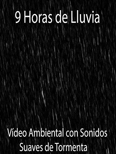 9 Horas de Lluvia Vídeo Ambiental con Sonidos Suaves de Tormenta