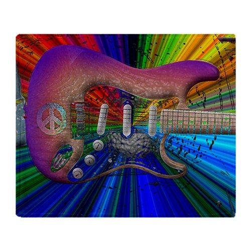 Guitar Fleece Blanket front-727551