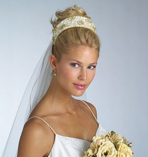 vogue pattern bridal veils size