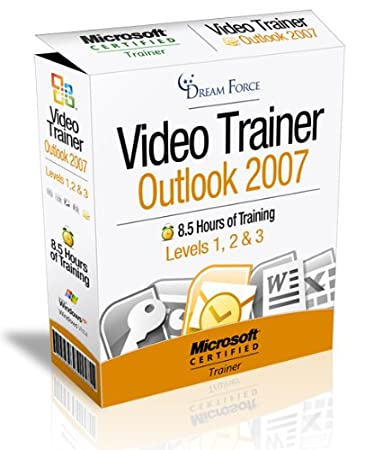 Outlook 2007 Training Videos - 8.5 Hours of Outlook 2007 training by Microsoft Office Specialist Master Instructor: 2000, XP (2002), 2003, 2007 and Microsoft Certified Trainer (MCT), Kirt Kershaw