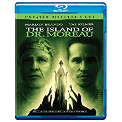The Island of Dr. Moreau (Unrated Director's Cut) [Blu-ray]