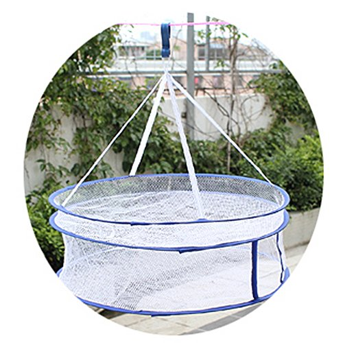 laundry-baskets-drying-clothes-basket-double-sweater-laundry-basket-quality-clothesline-net-pocket-r
