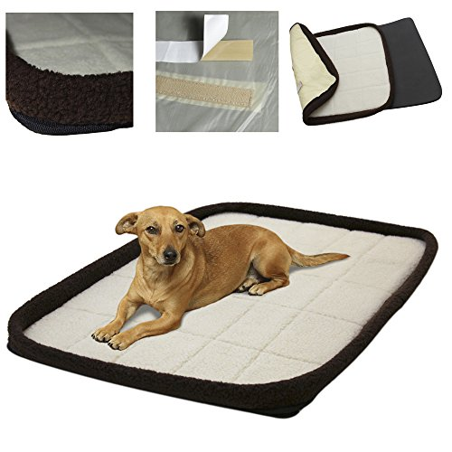 OxGord Pet Bed Cushion Mat Pad Dog Cat Kennel Crate Cozy Soft House
