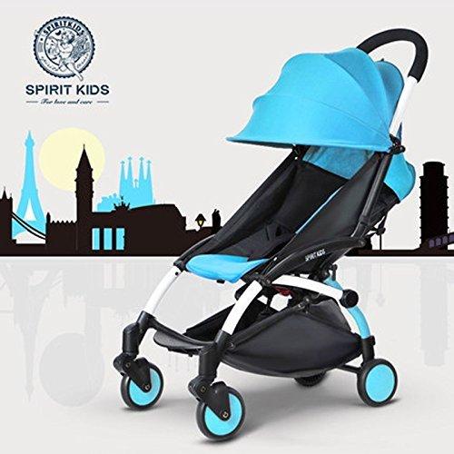 Tragbarer Baby-Buggy/Kinderwagen, klein, für Auto, leichter Regenschirm, zusammenklappbar