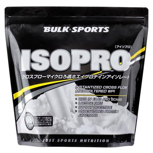 バルクスポーツ アイソプロ 1kg イチゴミルク