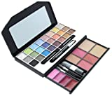 ETA 34 Runway Colors Complete Makeover Kit With Brushes Eye Pencil And Mirror 2.4 oz