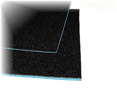 """Neoprene Padded Adhesive Felt - Black - 13"""" Wide - Price Per 1 Foot - Sound Absorbing - Vibration Reducing by Cir-Cut Corporation"""