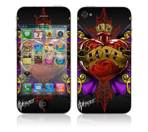 Apple iPhone 4 スキンシール [WL3 タトゥ3]