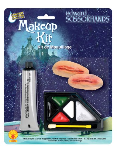 Edward Scissor Hands Makeup Kit, Brown, One Size - 1