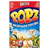 Popz Microwave Salted Popcorn 3 X 100G