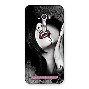 Special Wonder Lips Red Back Case Cover for Zenfone Selfie